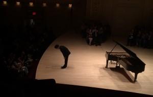 Evgeny Kissin at NYC Carnegie Hall