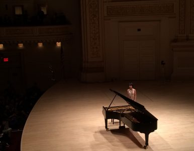 Yuja Wang at Carnegie Hall May 14th 2016