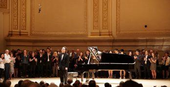 Kissin at Carnegie Hall May 2018