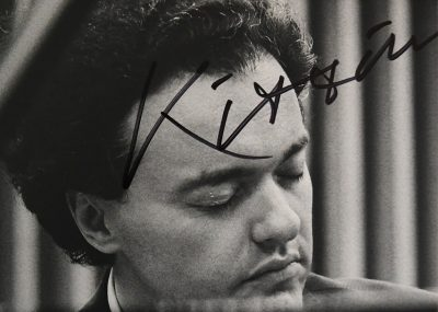 Kissin's autograph on my CD