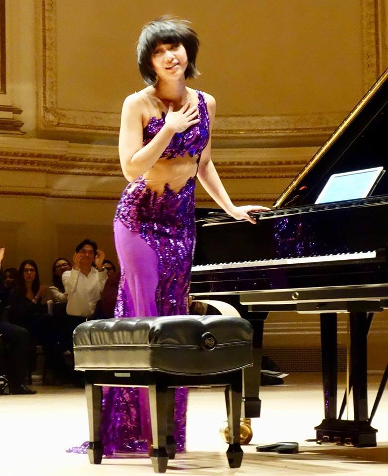 Wanging It at Carnegie Hall May 2018