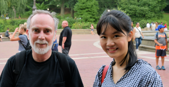 Tiffany and Ken in Central Park