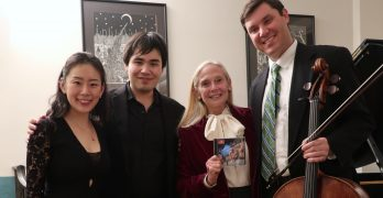 Glorioso Trio with New York composer Karen LeFrak