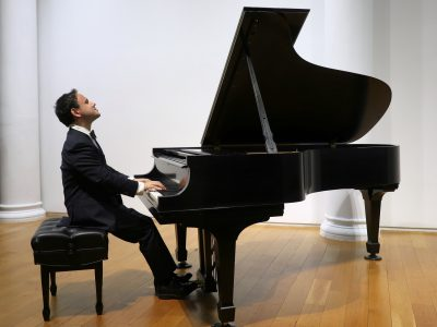Ivan Gusev playing C. P. E. Bach in New York